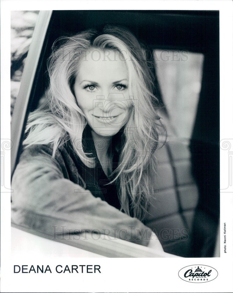 Undated Country Music Artist Deana Carter Press Photo - Historic Images