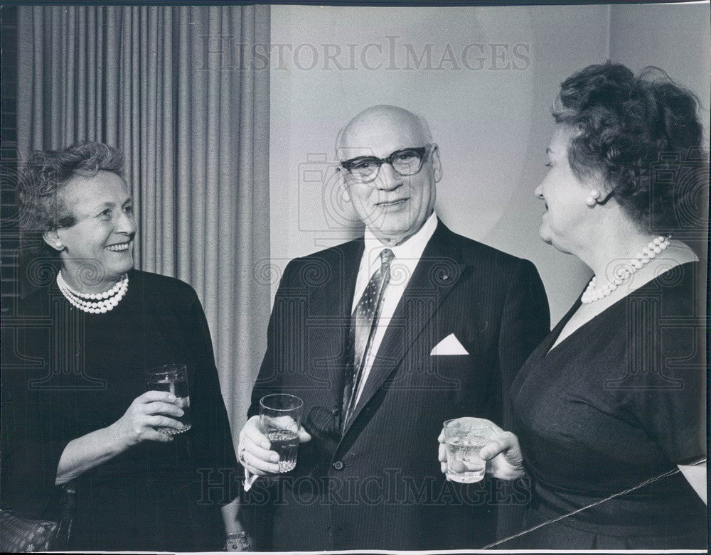 1960 American Impresario Sol Hurok Press Photo - Historic Images