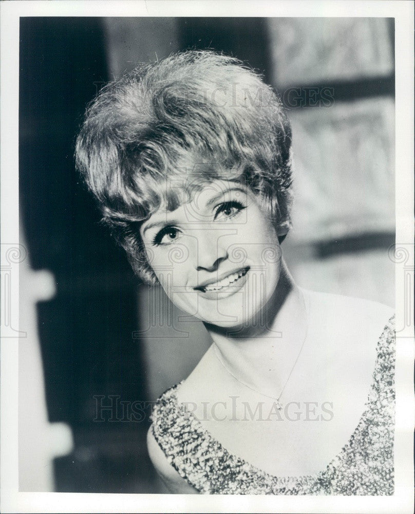 1965 Singer Doree Crews From TV Show The All Time Hits Press Photo - Historic Images