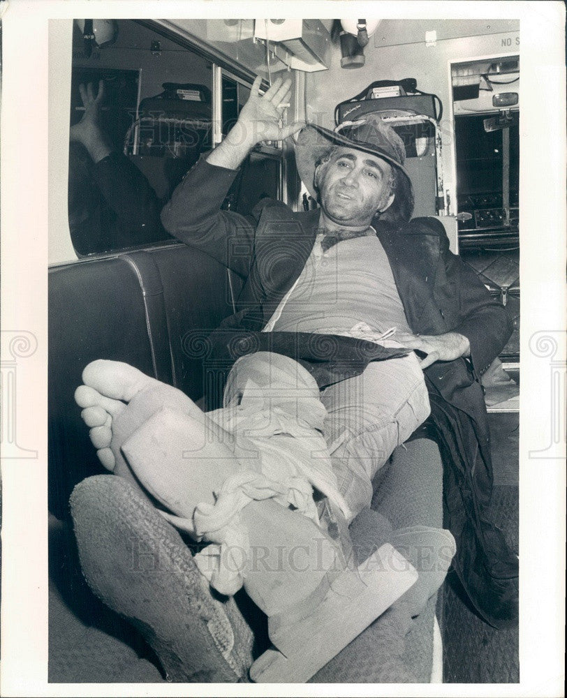 1972 Composer & Actor Lionel Bart, Composer of Music for Oliver Press Photo - Historic Images
