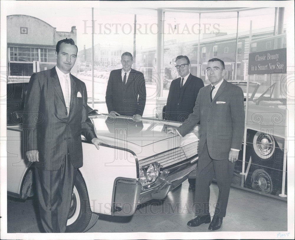 1961 Denver, Colorado Kumpf Motor Imports Managers John Haas Press Photo - Historic Images