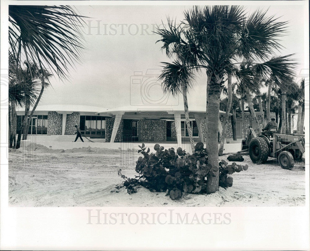 1966 Pinellas County, Florida Fort De Soto Park Restaurant Press Photo - Historic Images