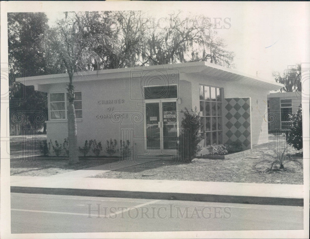 1963 Largo, Florida Chamber of Commerce Building Press Photo - Historic Images