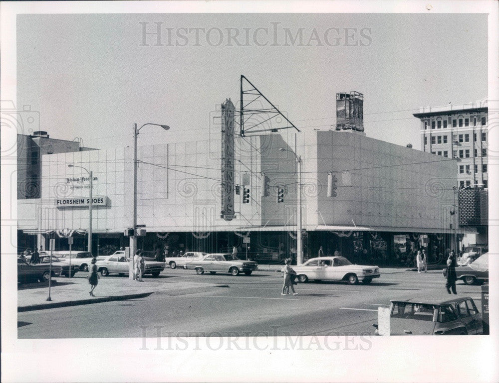 1968 St Petersburg, Florida Rutland's Men's Store Press Photo - Historic Images