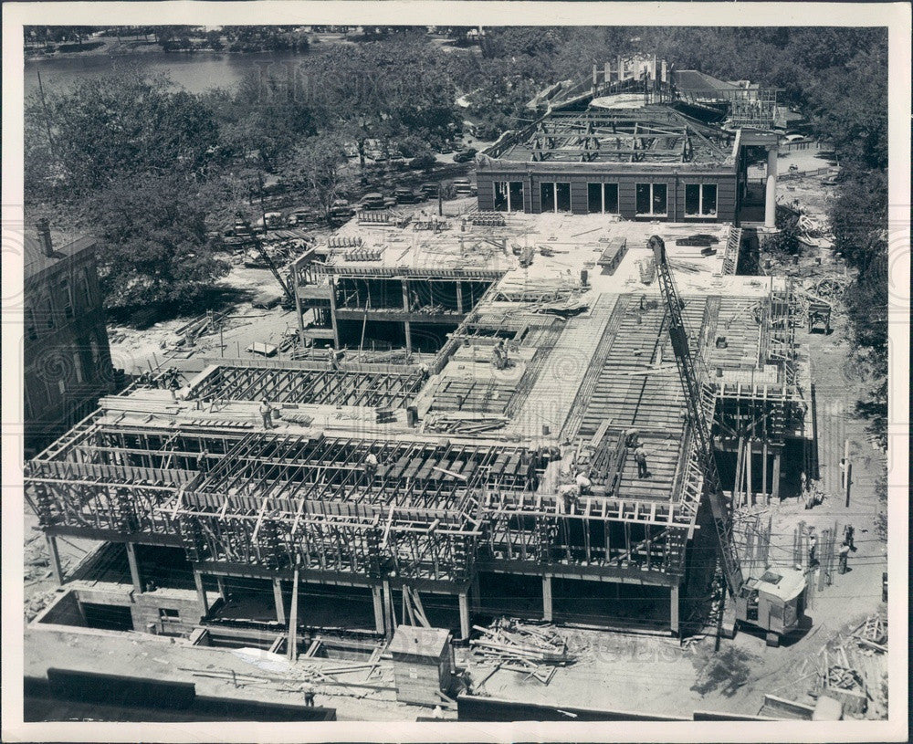 Undated St Petersburg, Florida Pinellas County Building Construction Press Photo - Historic Images