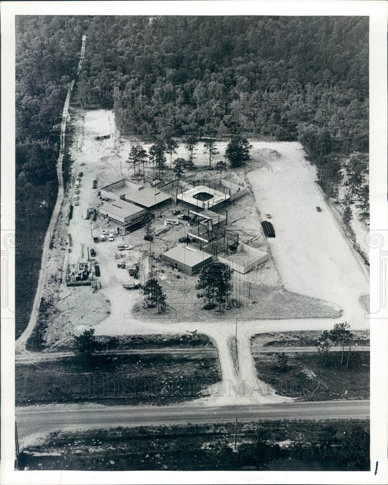 1983 Brooksville, FL Pinebrook Regional Medical Center Construction Press Photo - Historic Images
