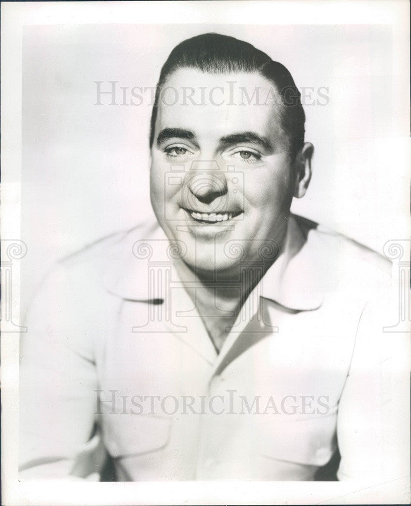 Undated American Hollywood Actor Pat O'Brien Press Photo - Historic Images