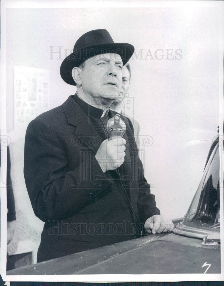 1956 American Hollywood Actor Pat O'Brien Press Photo - Historic Images