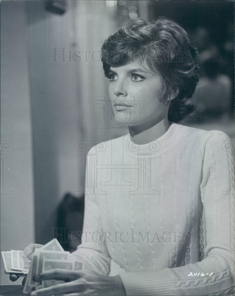 1968 American Hollywood Actress Katharine Ross in Hellfighters Press Photo - Historic Images