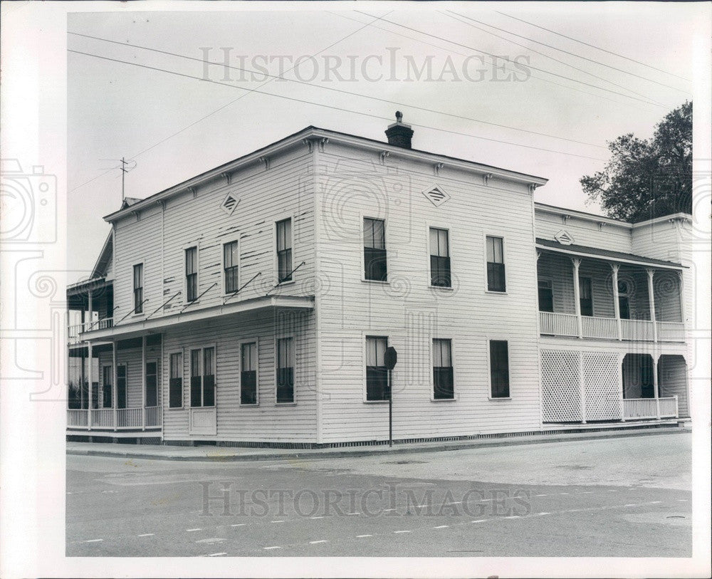 1965 Bradenton, Florida Gaar House Press Photo - Historic Images
