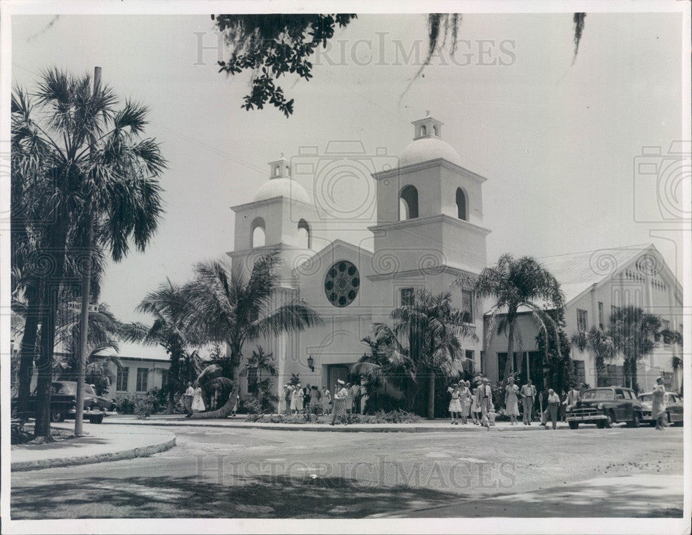 Undated Bradenton, Florida First Presbyterian Church Press Photo - Historic Images