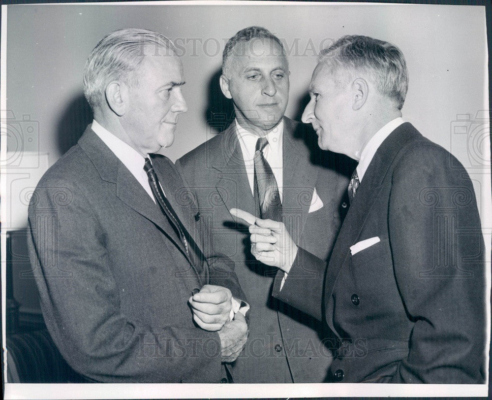 1954 American Assn of Railroads Directors Patrick McGinnis Press Photo - Historic Images