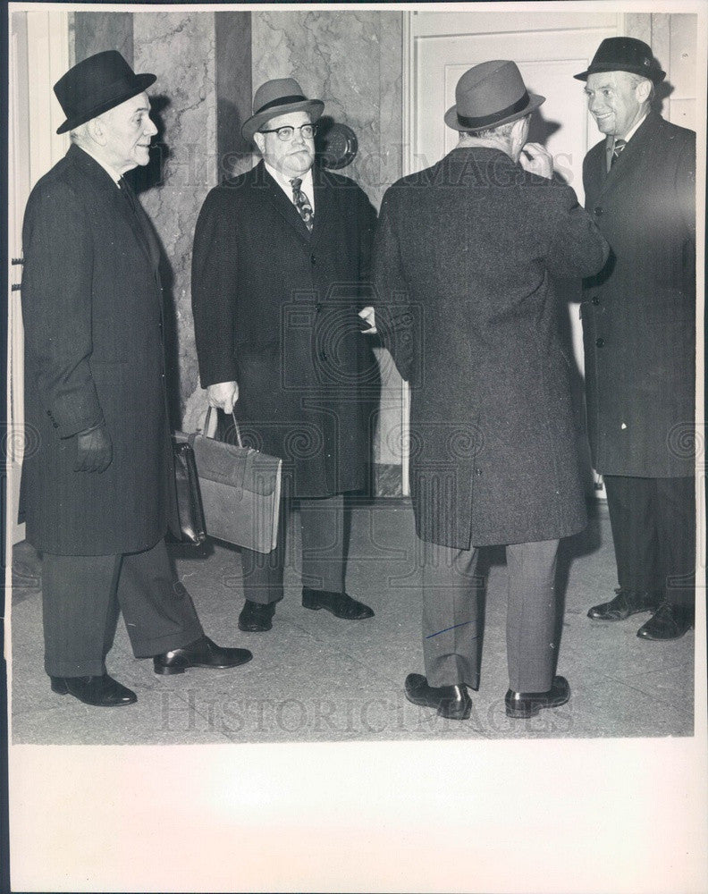 1964 Boston & Maine Railroad President Patrick McGinnis Press Photo - Historic Images
