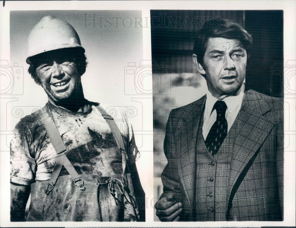 1978 Actor Ralph Waite in Film The Secret Life Of John Chapman Press Photo - Historic Images