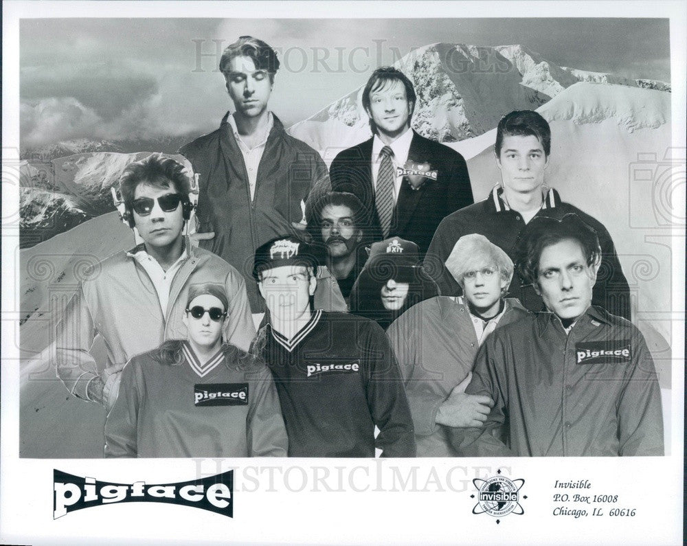 Undated Industrial Rock Supergroup Pigface Press Photo - Historic Images