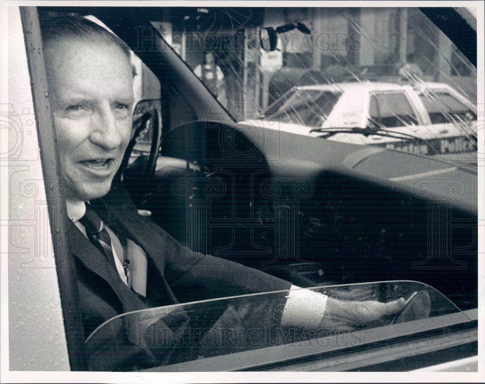 1992 US Presidential Candidate, Businessman Ross Perot Press Photo - Historic Images