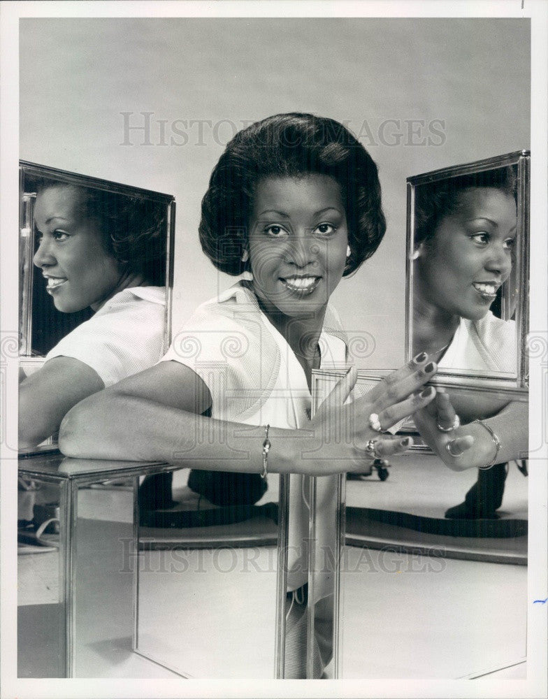 1977 Miss Black America Twanna Kilgore Press Photo - Historic Images