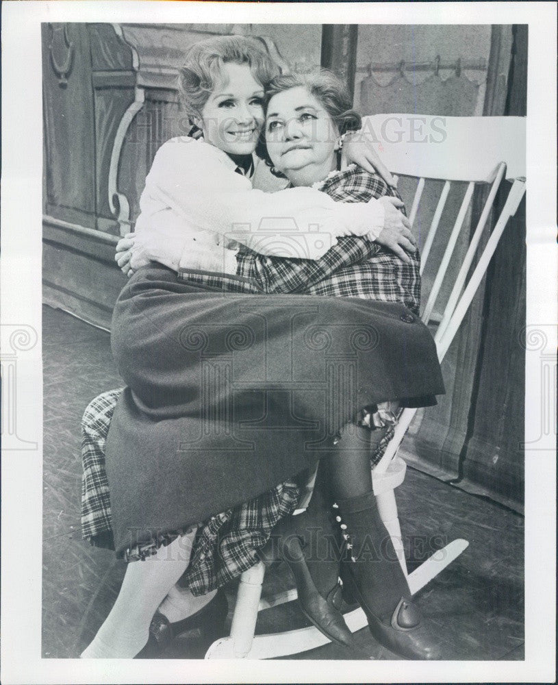 Undated Actors Debbie Reynolds & Patsy Kelly in Broadways Irene Press Photo - Historic Images