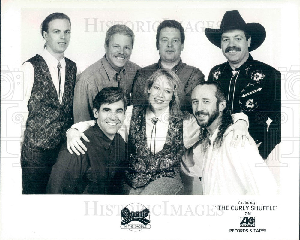 1993 American Country-Pop Band Jump 'N The Saddle Press Photo - Historic Images