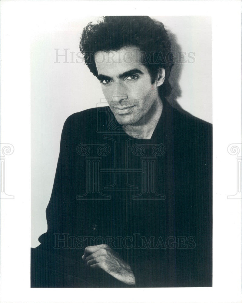 1995 American Illusionist David Copperfield Press Photo - Historic Images