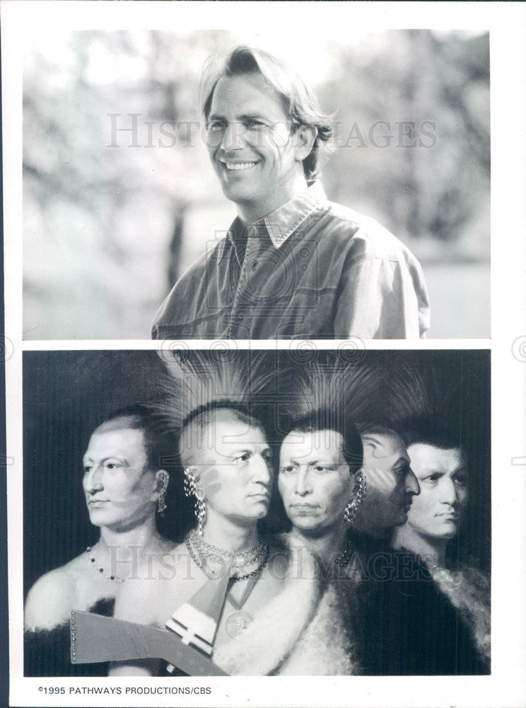 1995 Hollywood Actor/Singer/Director/Producer Kevin Costner Press Photo - Historic Images