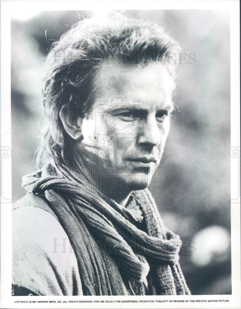 1994 Hollywood Actor Kevin Costner in Robin Hood Prince of Thieves Press Photo - Historic Images