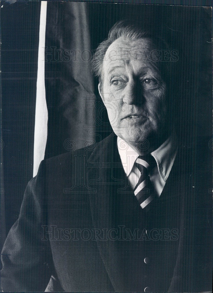 1970 American TV & Radio Personality Art Linkletter Press Photo - Historic Images