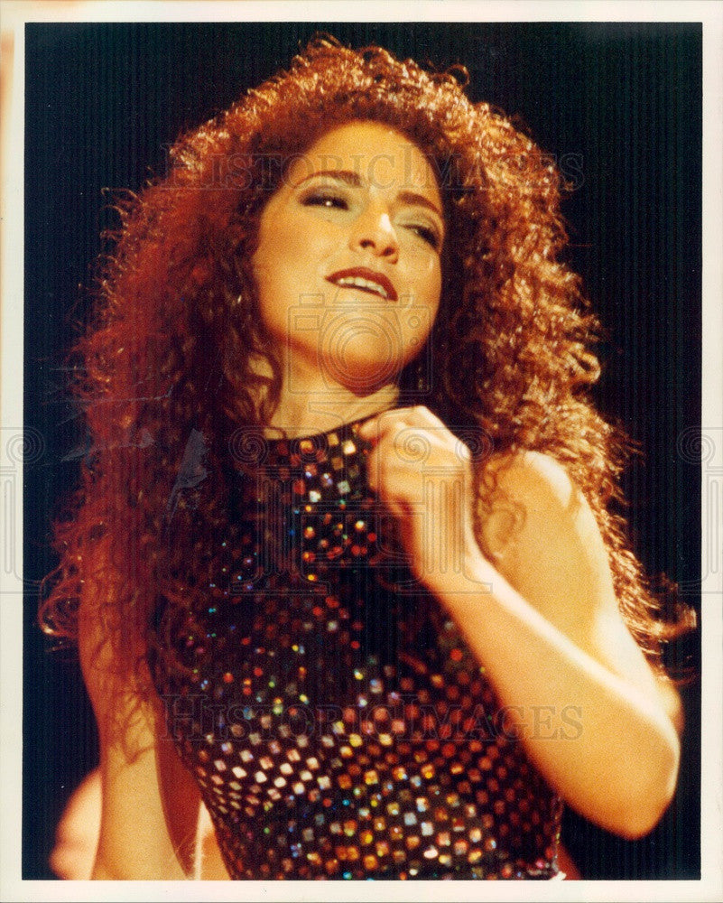 1991 American Singer/Actress Gloria Estefan Press Photo - Historic Images