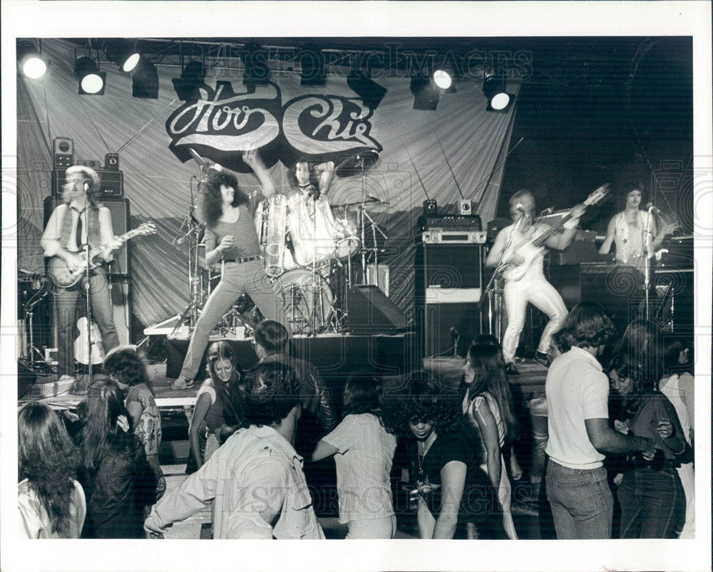 1981 Rock Band Hoochie Press Photo - Historic Images