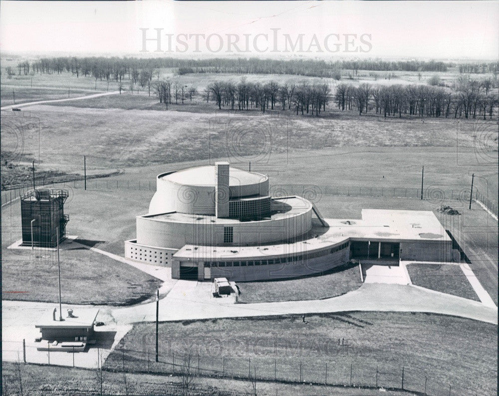 1966 Chicago, IL Argonne National Laboratory Research Reactor CP-5 Press Photo - Historic Images