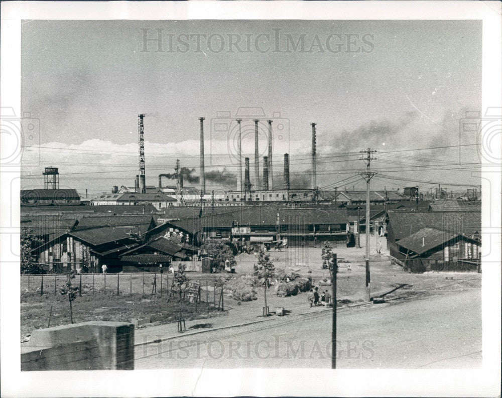 1941 Osaka, Japan Industrial Plants Press Photo - Historic Images