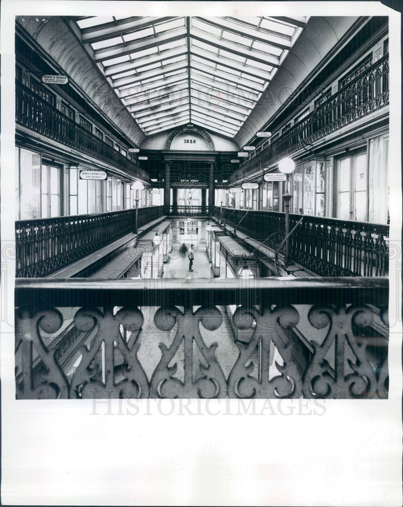 1970 Providence, Rhode Island Arcade, Built in 1828 Press Photo - Historic Images