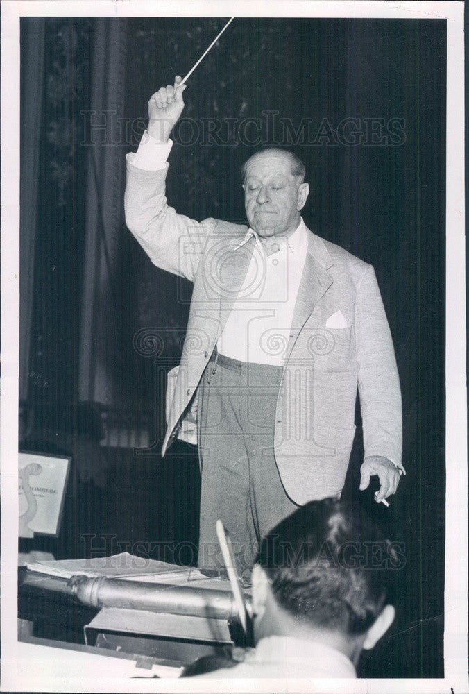 1951 Broadway, Operetta Composer Sigmund Romberg Press Photo - Historic Images