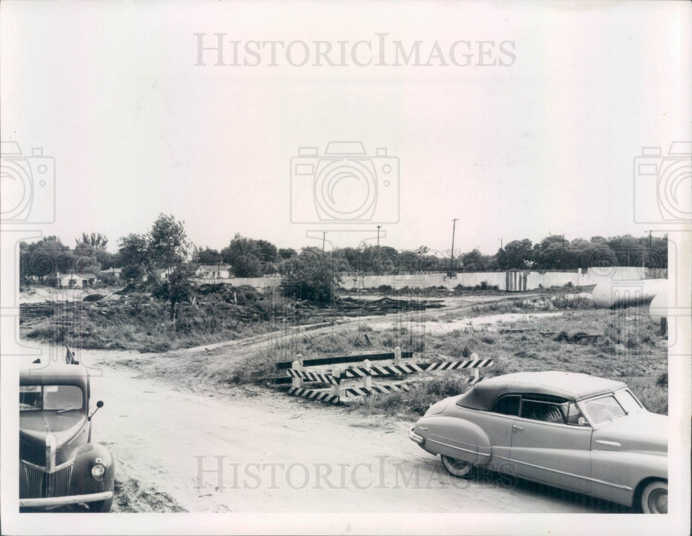 Undated St Petersburg, Florida Campbell Park Site Press Photo - Historic Images