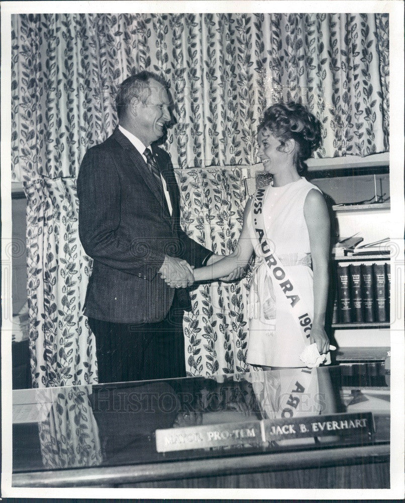 1971 Miss Aurora, Colorado 1971 Marla Mallia Press Photo - Historic Images