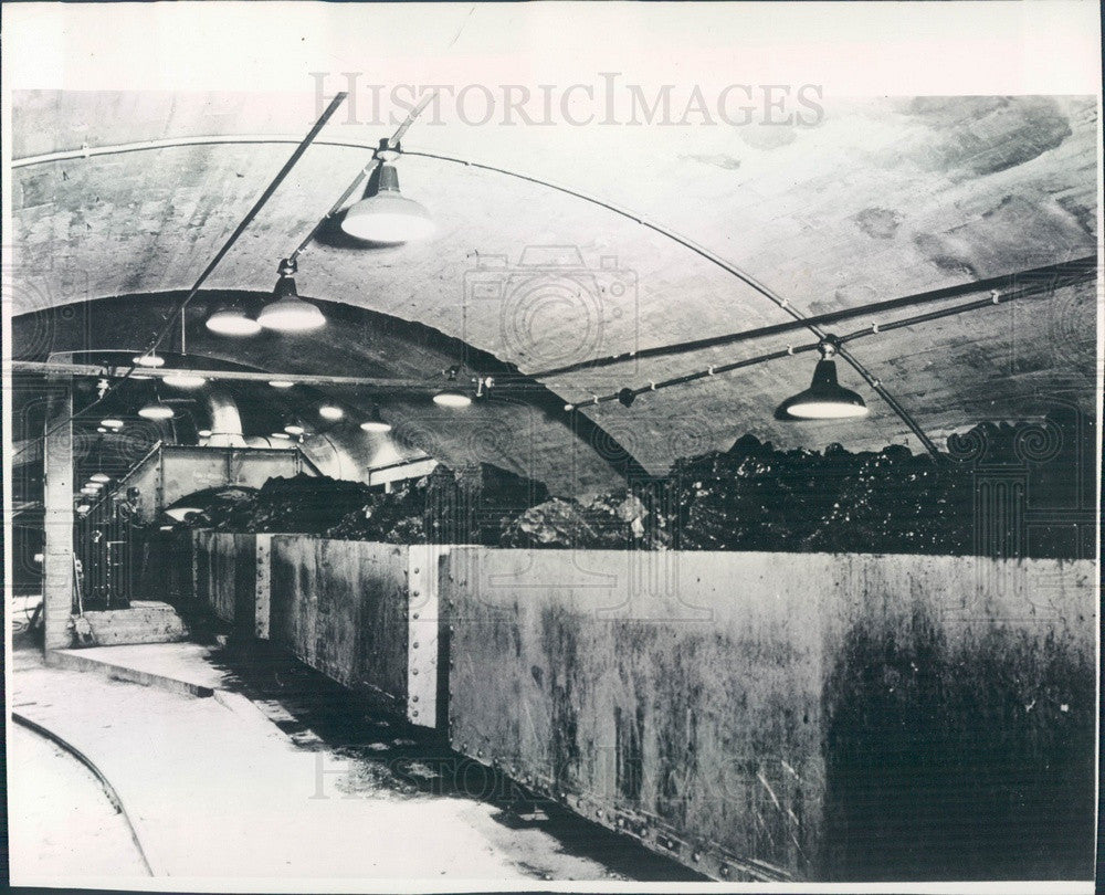 1948 Carbon County, Utah Coal Mine Press Photo - Historic Images