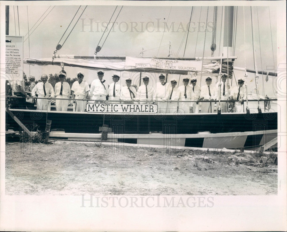 1967 Mystic, CT Cruise Schooner Mystic Whaler in St Petersburg, FL Press Photo - Historic Images