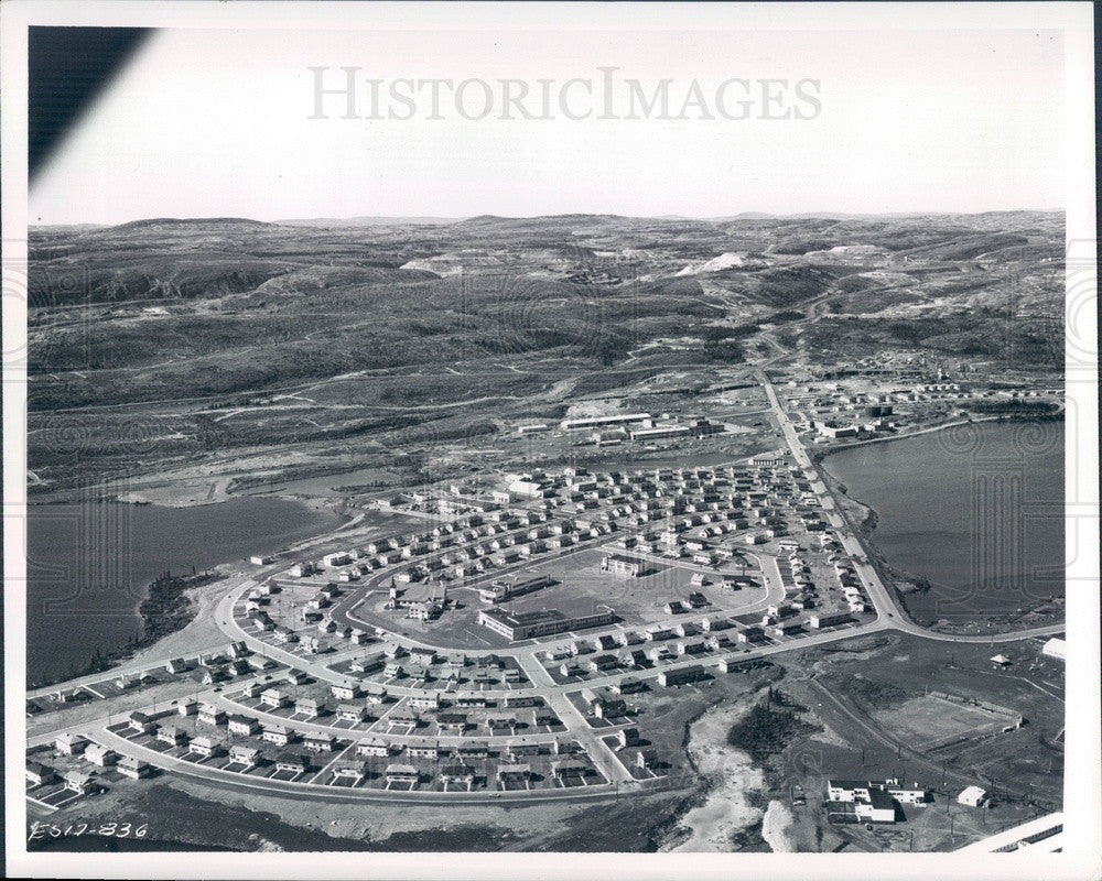 1965 Sheffervilee, Quebec, Canada Aerial View Press Photo - Historic Images