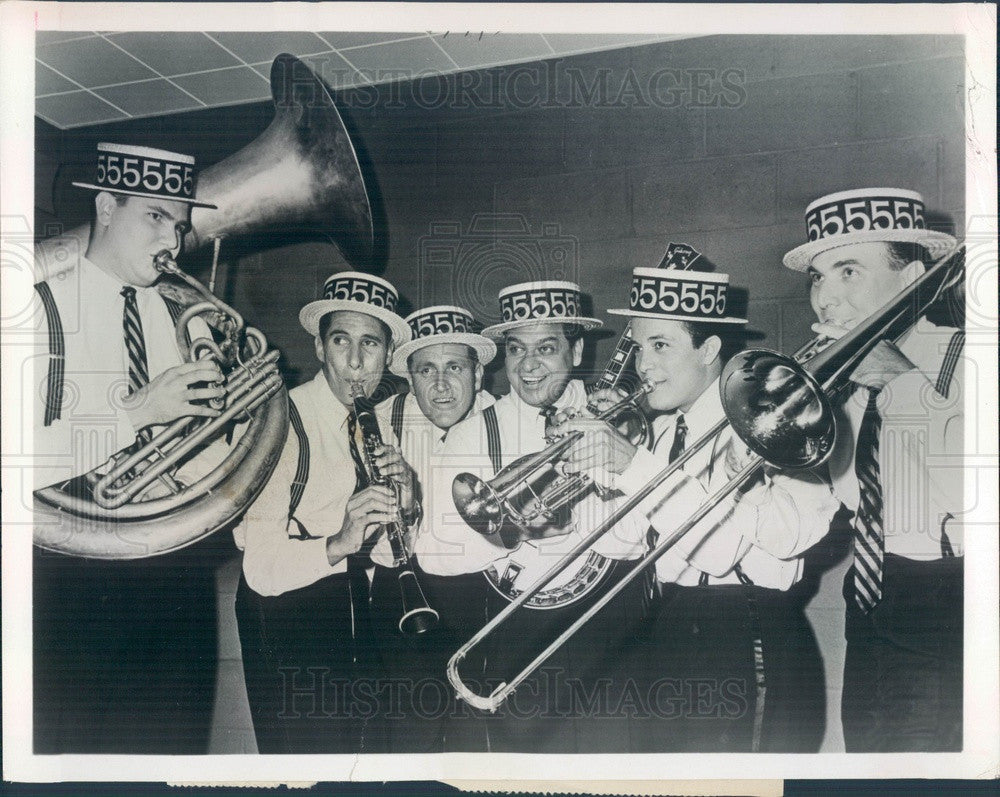 1964 Jazz Musician Stan Rubin and His Tigertown Five Press Photo - Historic Images