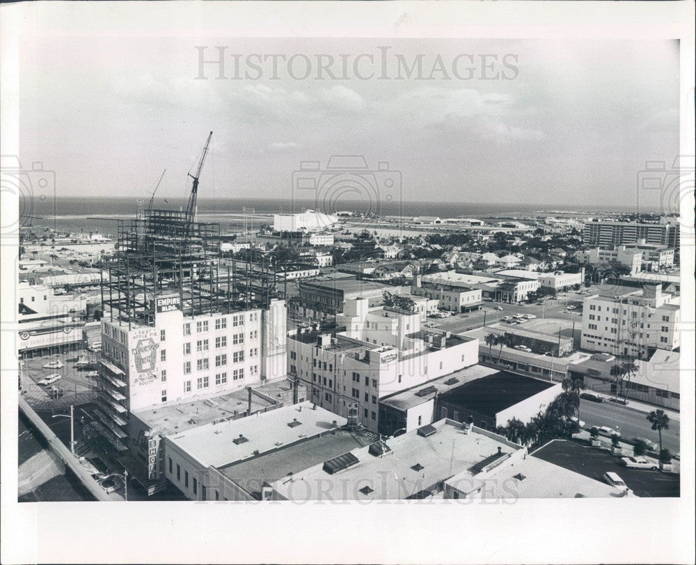 1966 St Petersburg, Florida Skyline Press Photo - Historic Images