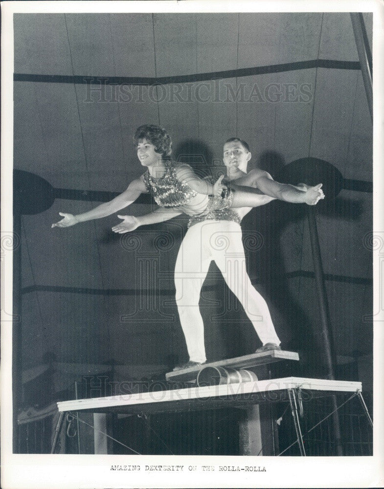 1965 Florida State University Student Circus, Rolla-Rolla Press Photo - Historic Images