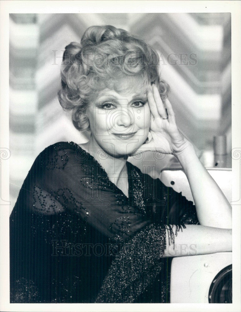 1978 American Hollywood Singer/Actress Edie Adams Press Photo - Historic Images