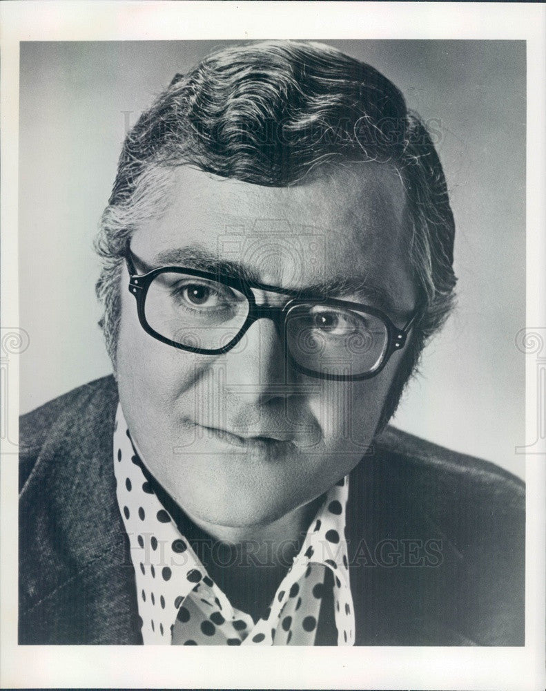 1975 American Hollywood Actor/Comedian Pat Cooper Press Photo - Historic Images