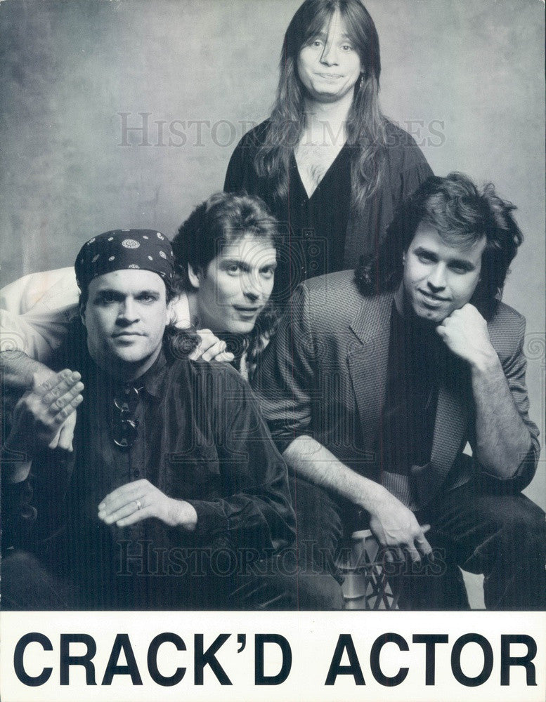 1994 Folk Band Crack'd Actor Press Photo - Historic Images