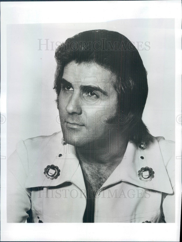 1977 American Country Singer Billy �Crash� Craddock Press Photo - Historic Images
