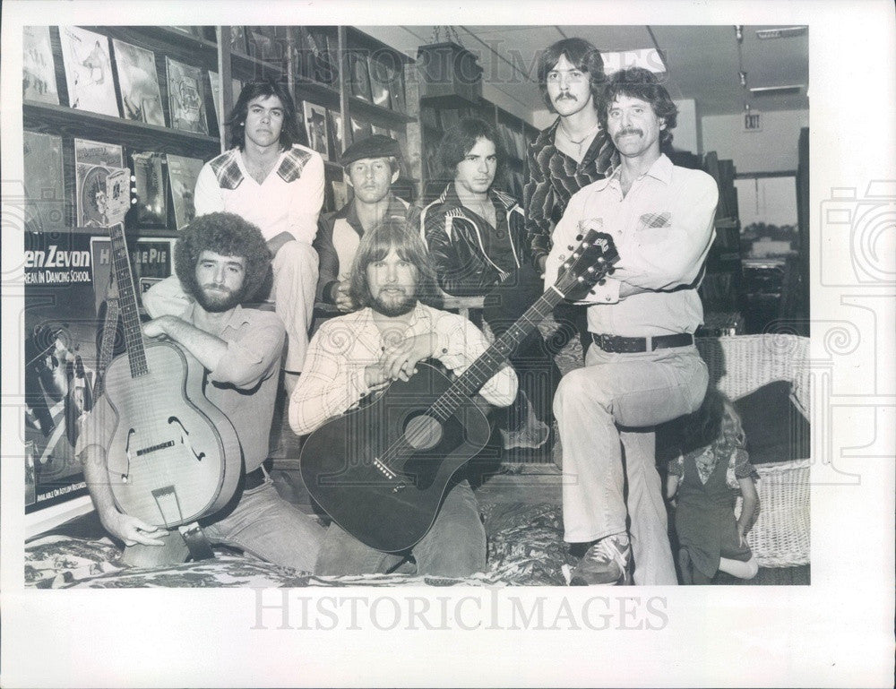 1980 Rock Band The Suspects Press Photo - Historic Images