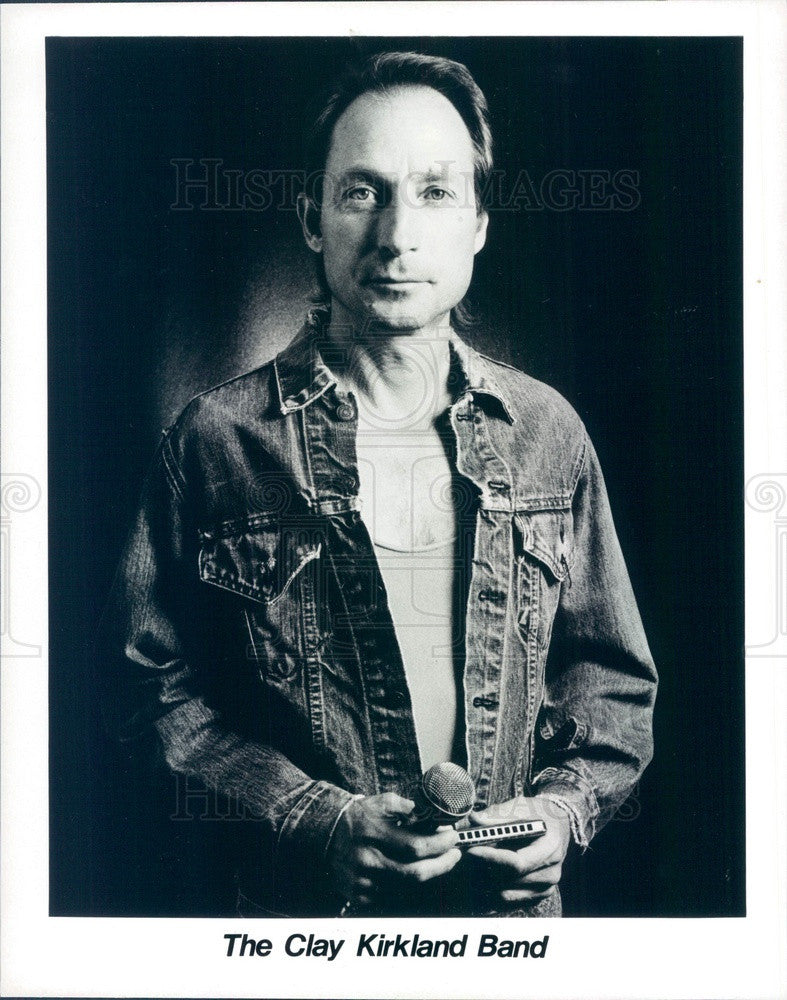 1995 Blues Music Group The Clay Kirkland Band Press Photo - Historic Images