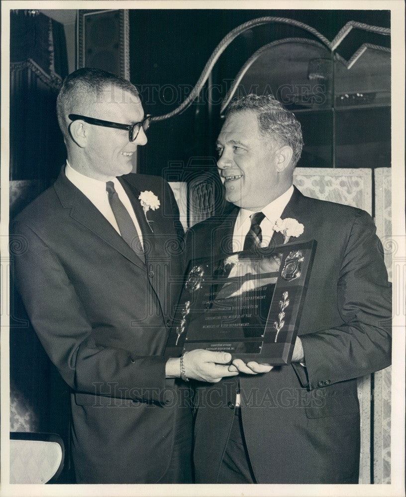 1966 New York Corrections Commissioner George McGrath Press Photo - Historic Images