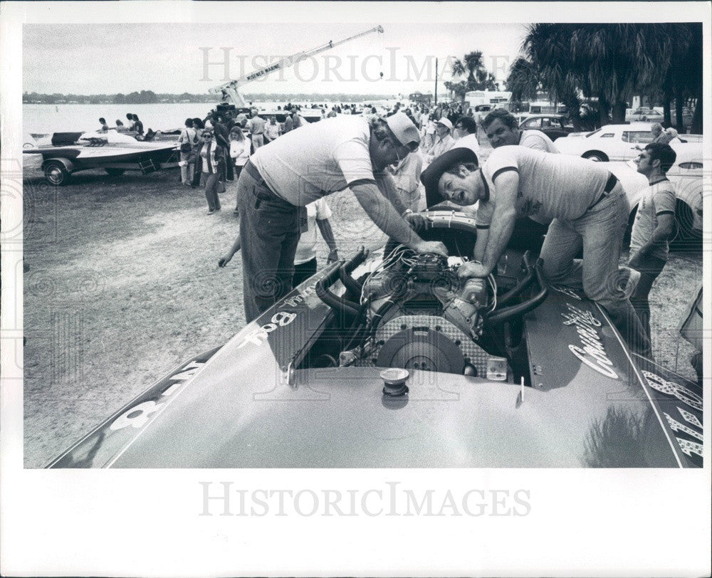 1976 St. Petersburg, Florida Southland Regatta, Hydroplane Boat Press Photo - Historic Images
