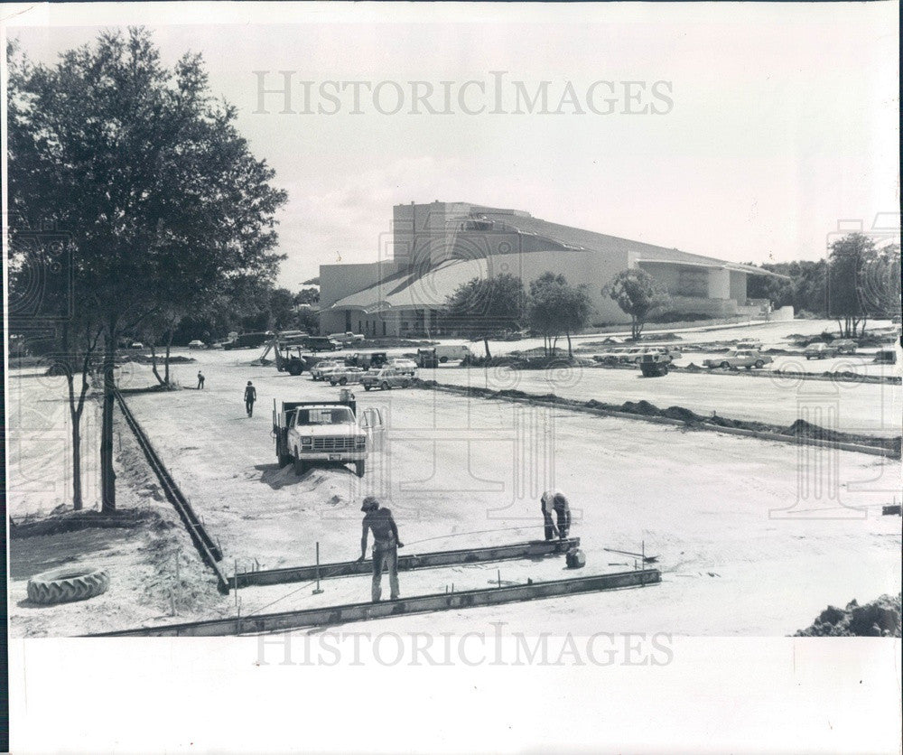 1983 Clearwater, FL Performing Arts Center and Theater Construction Press Photo - Historic Images